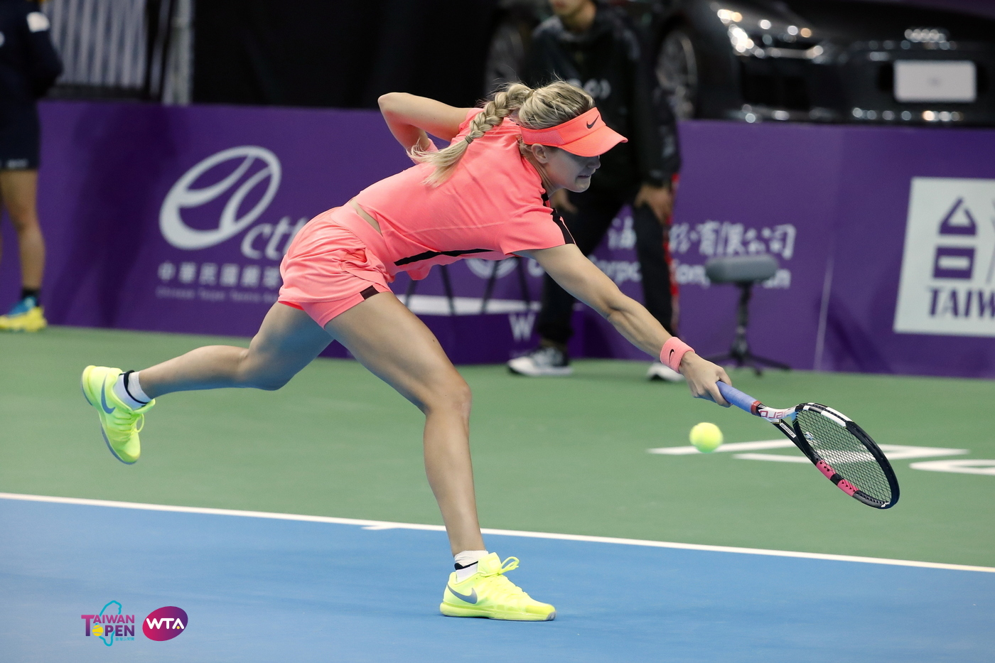 [CENTER COURT]02/02 EUGENIE BOUCHARD(CAN) vs. YAFAN WANG(CHN) 2018 臺灣公開賽 - 讓世界看見台灣 ( TAIWAN OPEN 2018 )